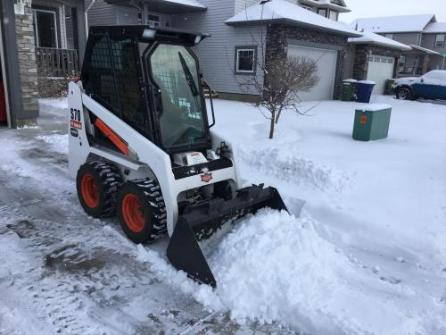 Airdrie Bobcat Snow Removal