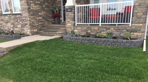 Stackstone Flower Bed Wall