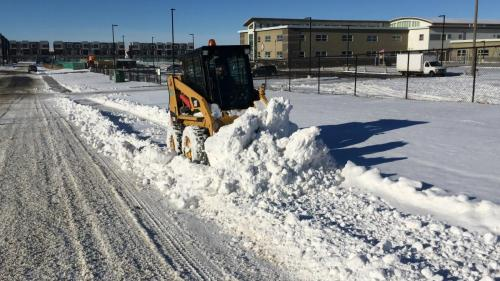 Commercial Property Snow Clearing